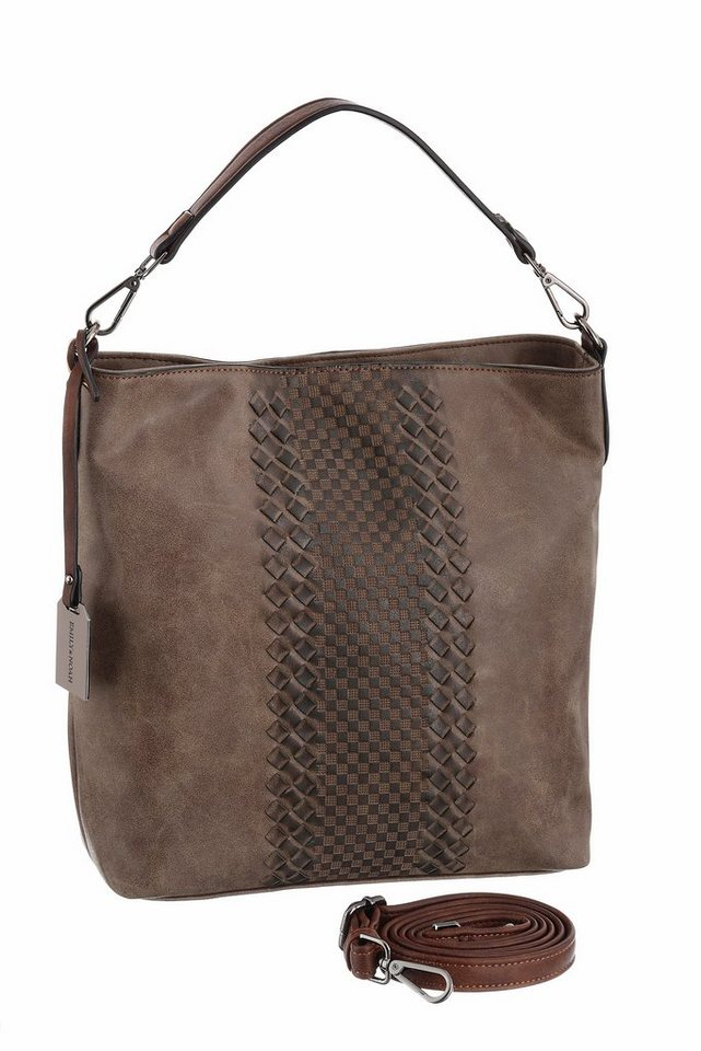 Emily und Noah Hobo in taupe-braun-used