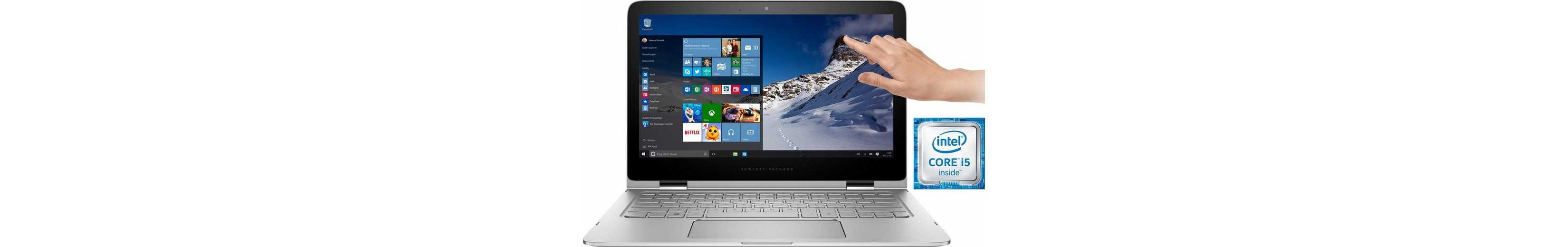 HP Spectre 13-4151ng Notebook, Intel® Core™ i5, 33,8 cm (13,3 Zoll), 256 GB Speicher