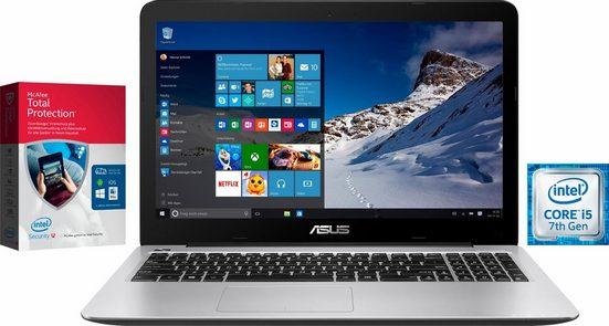 Asus F556UQ Notebook, Intel® Core™ i5, 39,6 cm (15,6 Zoll), 1000 GB Speicher, 4096 MB DDR4-RAM