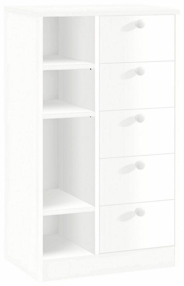 Kommode »Nicolas«, Breite 50 cm in weiß