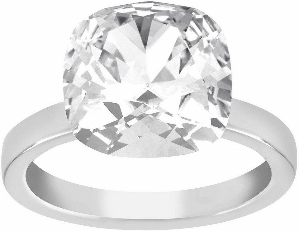 Lolaandgrace Fingerring »GEM RING, 1158205, 1158341, 1158342« verziert mit Swarovski® Kristall in silberfarben