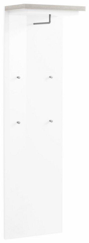 Wandpaneel »Gazebo« in weiß-betonfarben/weiß HG