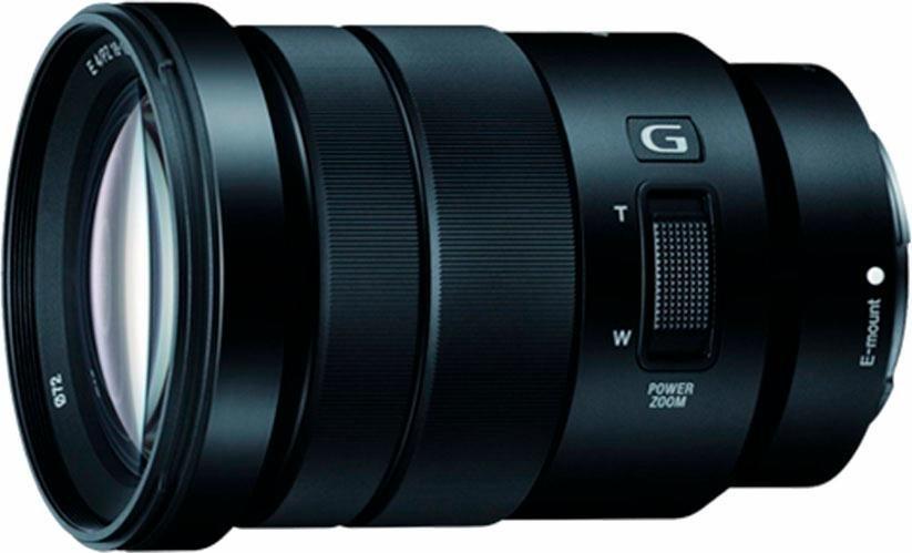 Sony SELP18105G Standardzoom Objektiv in schwarz