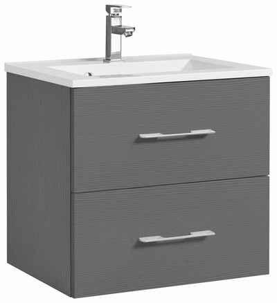 Doppelwaschtisch mit unterschrank holz  Waschtisch online kaufen » Waschbecken mit Unterschrank | OTTO