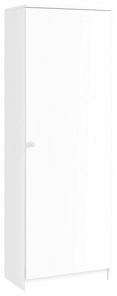 Garderobenschrank »Nicolas« in weiß