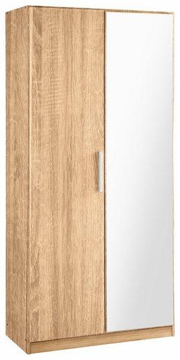 rauch BLUE Garderobenschrank »Minosa« mit Spiegel, Breite 91 cm