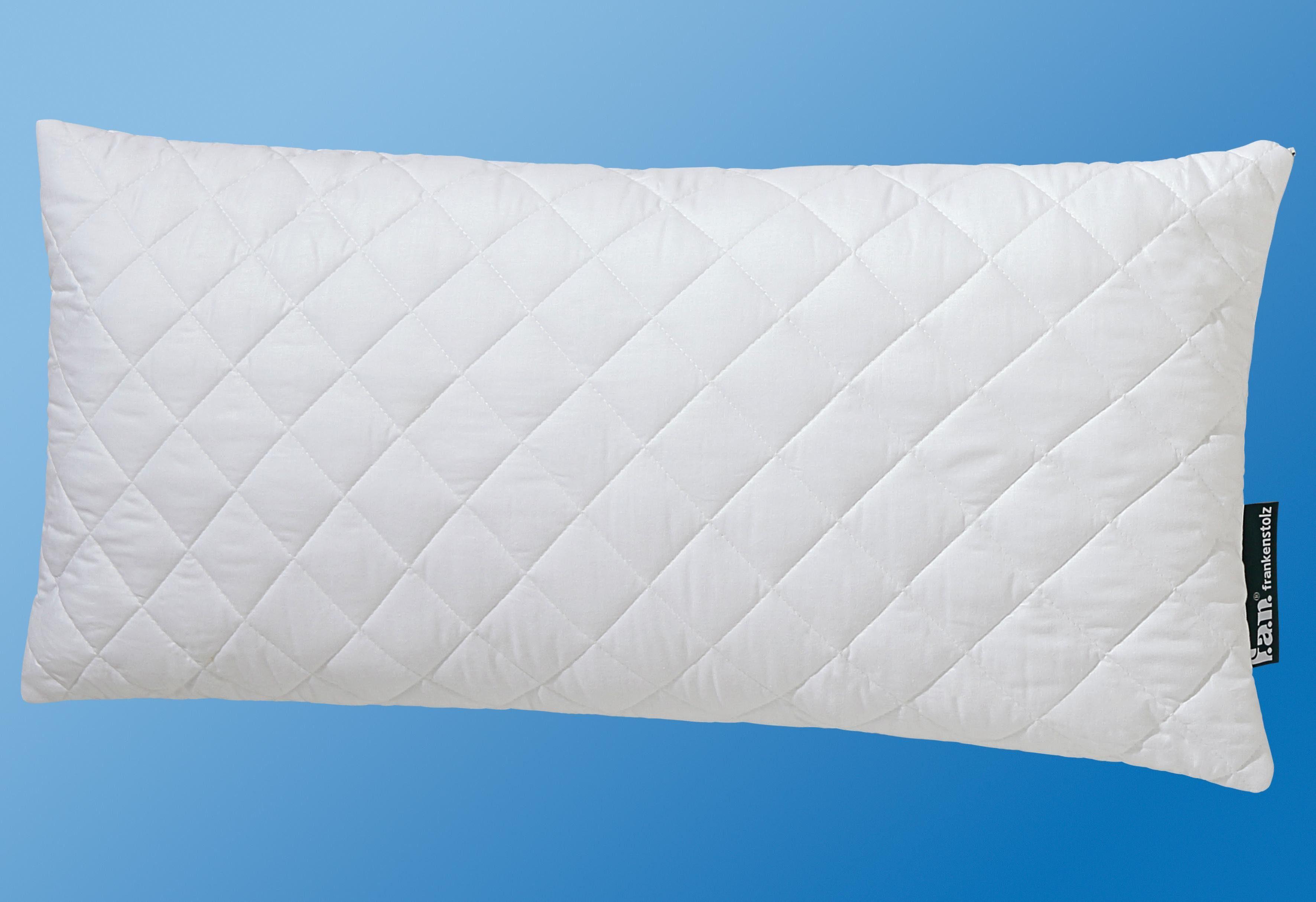 Kunstfaserkopfkissen f.a.n. Seitenschläferkissen 40x80 cm, Kunstfaser