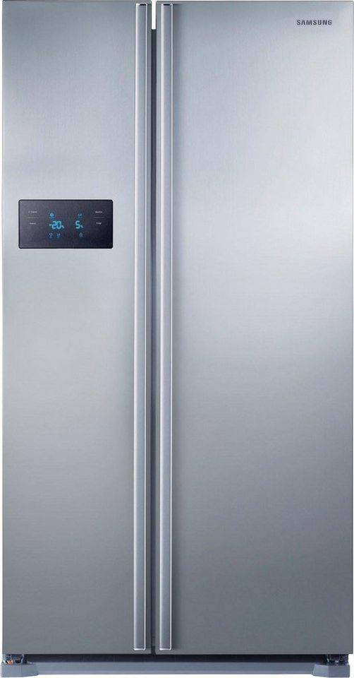 Samsung Side by Side RS7528THCSL, A++, 178,9 cm hoch, NoFrost in Edelstahl-Look