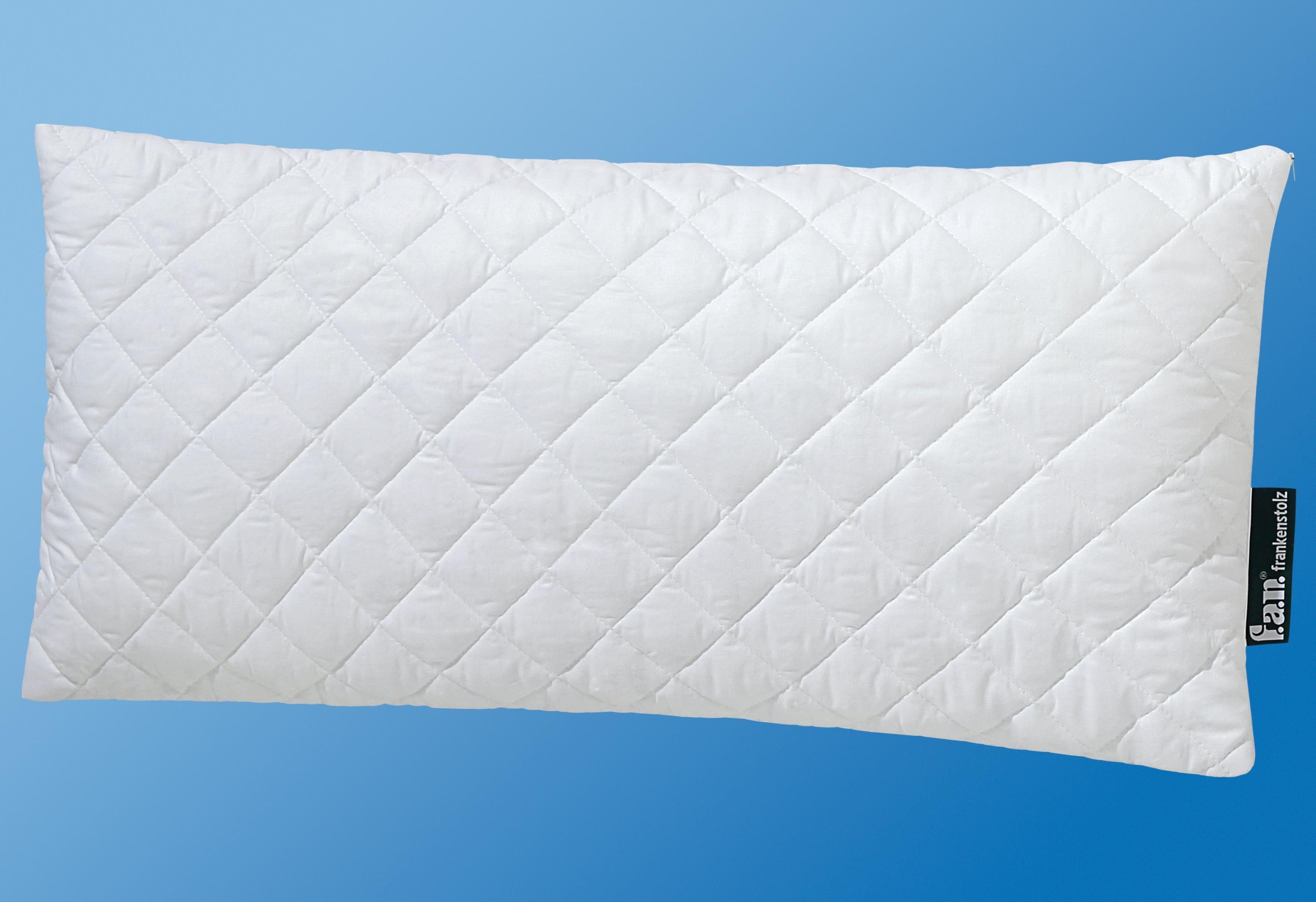 Kunstfaserkopfkissen f.a.n. Rückenschläferkissen 40x80 cm, Kunstfaser
