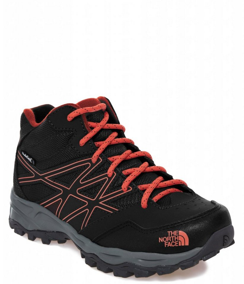 The North Face Kletterschuh »Hedgehog Hiker Mid WP Shoes Junior« in schwarz