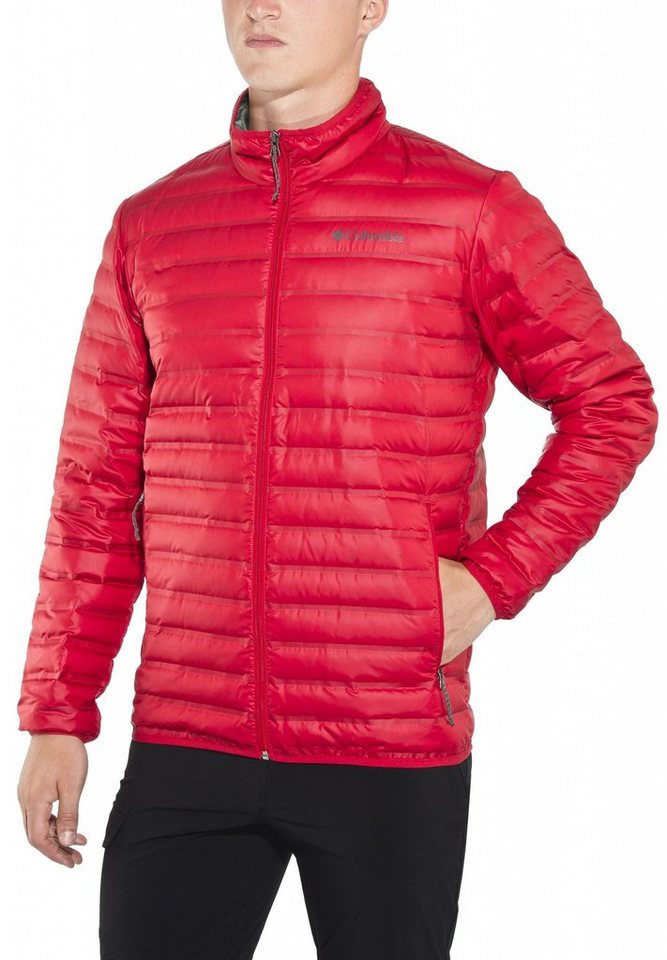 Columbia Outdoorjacke »Flash Forward Down Jacket Men« in rot