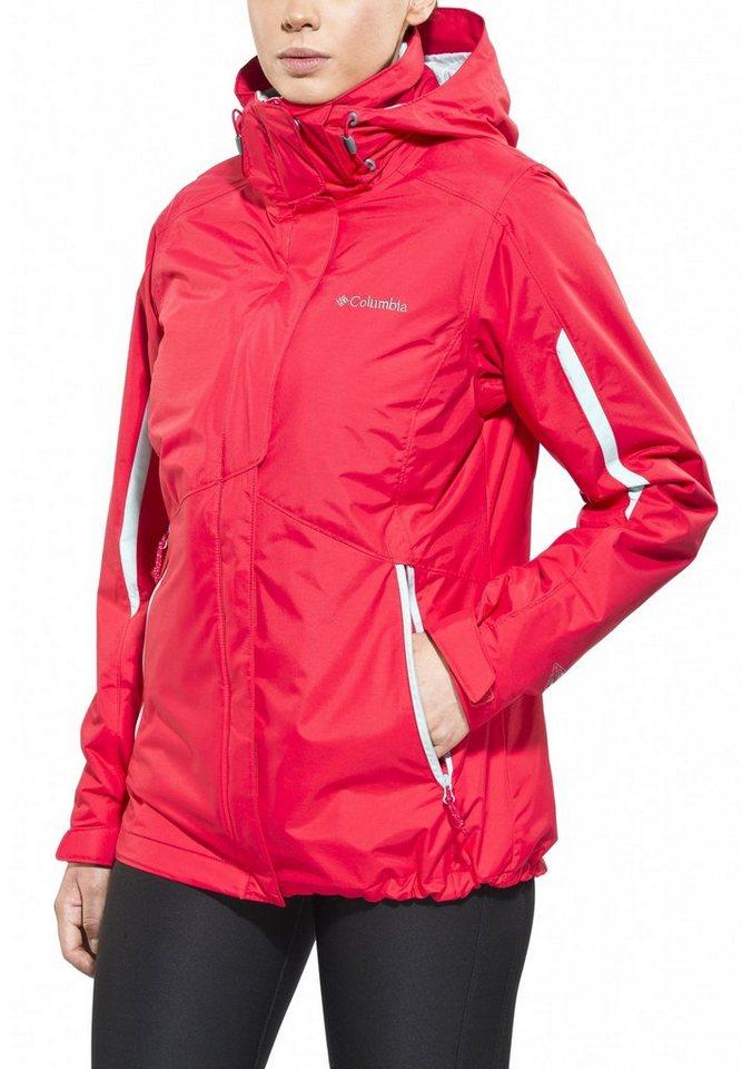 Columbia Outdoorjacke »Bugaboo Interchange Jacket Women« in rot