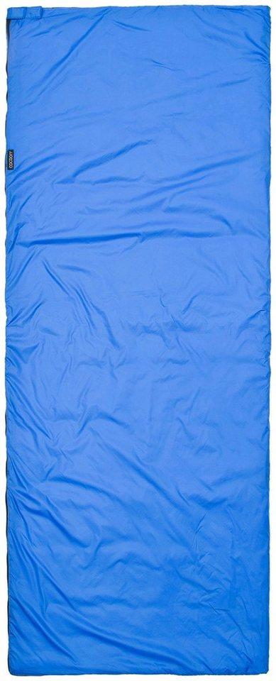 Cocoon Schlafsack »Tropic Traveler Sleeping Bag Silk Regular« in blau