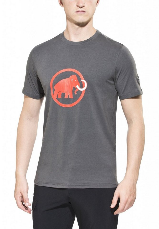 Mammut T-Shirt »Logo T-Shirt Men« in grau