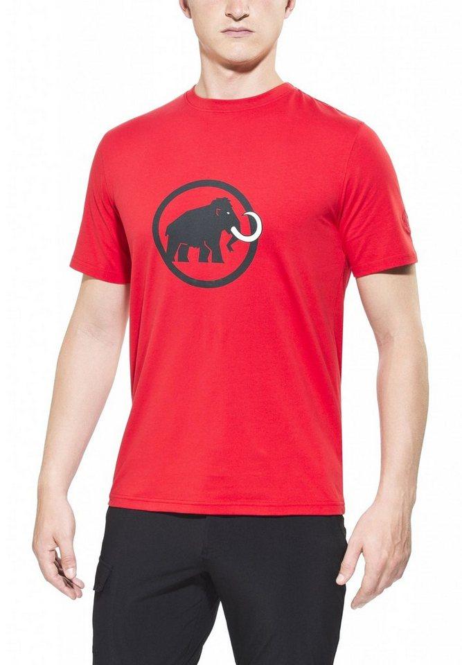 Mammut T-Shirt »Logo T-Shirt Men« in rot