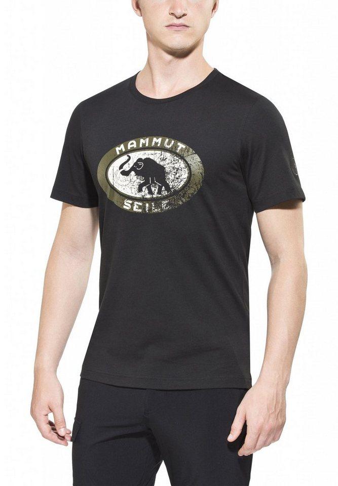 Mammut T-Shirt »Seile T-Shirt Men« in schwarz