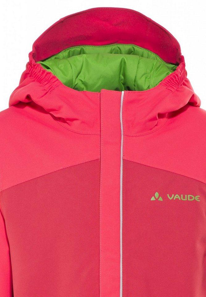 VAUDE Outdoorjacke »Suricate II Padded Jacket Kids« in rot