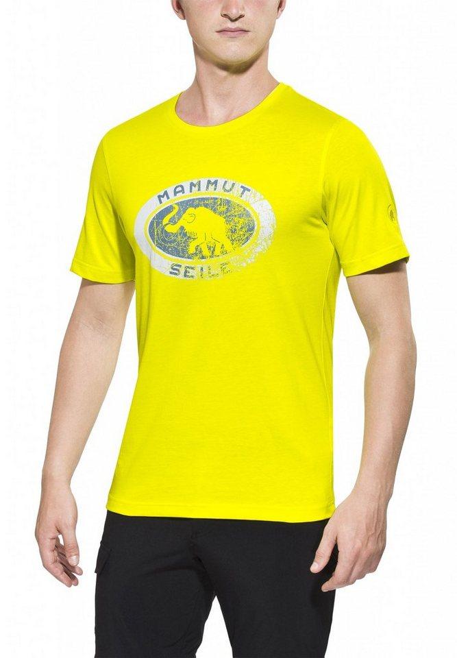 Mammut T-Shirt »Seile T-Shirt Men« in gelb