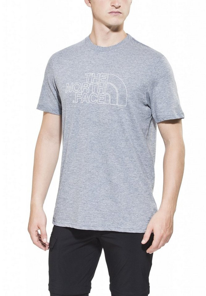 The North Face T-Shirt »Novelty Logo Tee Men« in blau