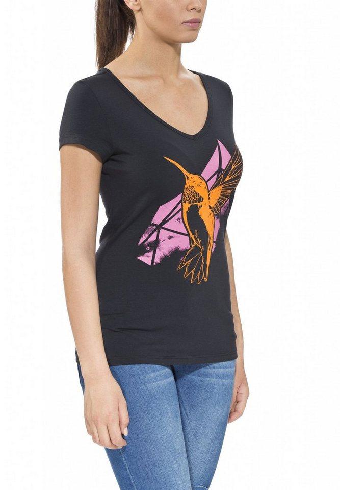 Gentic T-Shirt »Joytop Tee Women« in schwarz