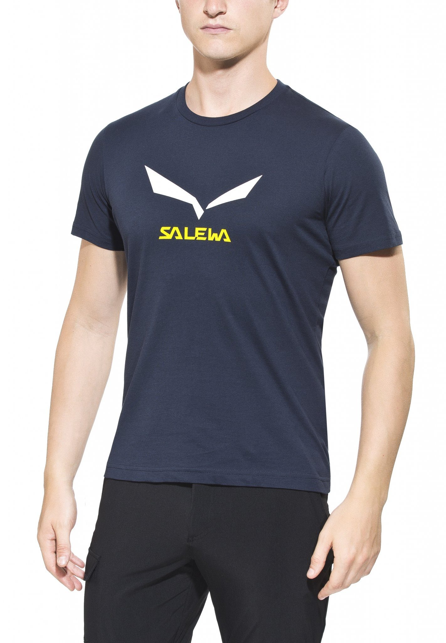 Salewa T-Shirt »Solidlogo 2 S/S Tee Men CO«