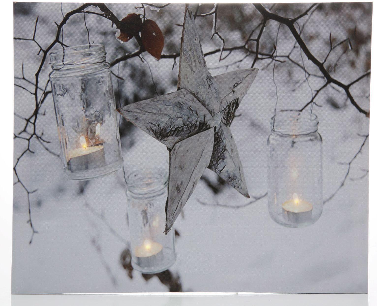 LED-Bild, »Stern«