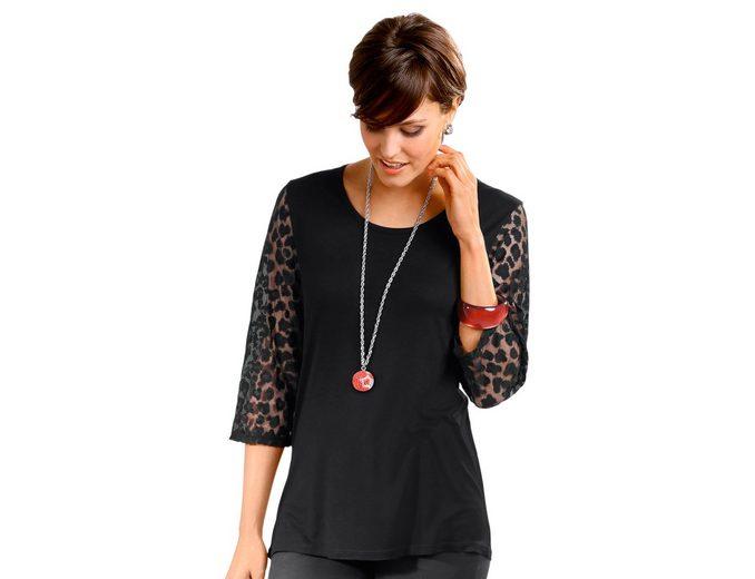 Classic Basics Shirt mit 3/4-Ärmeln Billig Verkauf Großer Verkauf Geschäft Zum Verkauf RUgLF