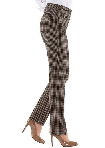 Classic Inspirationen Hose mit modischem Karo-Druck