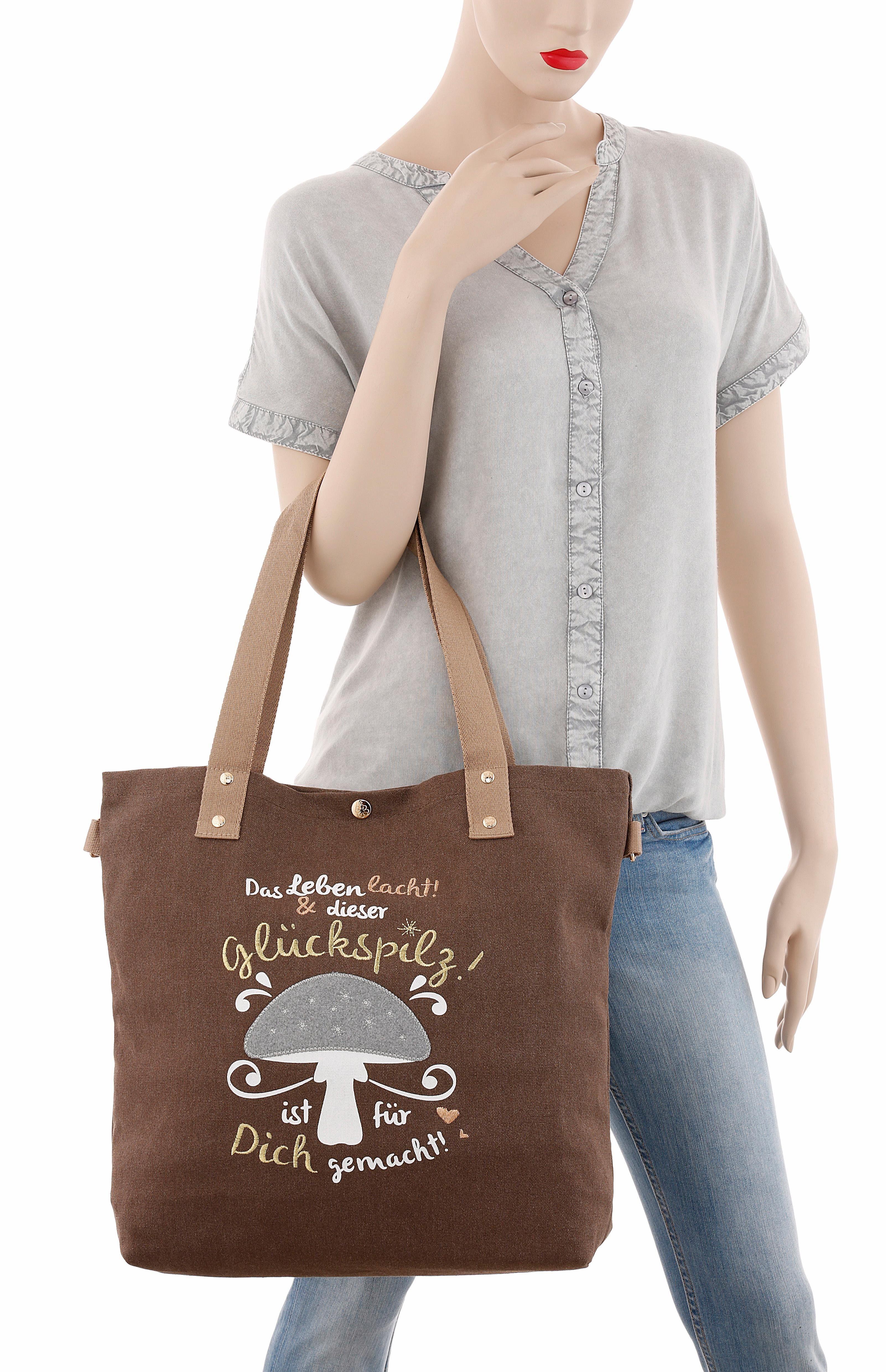 ADELHEID Shopper mit Printbild