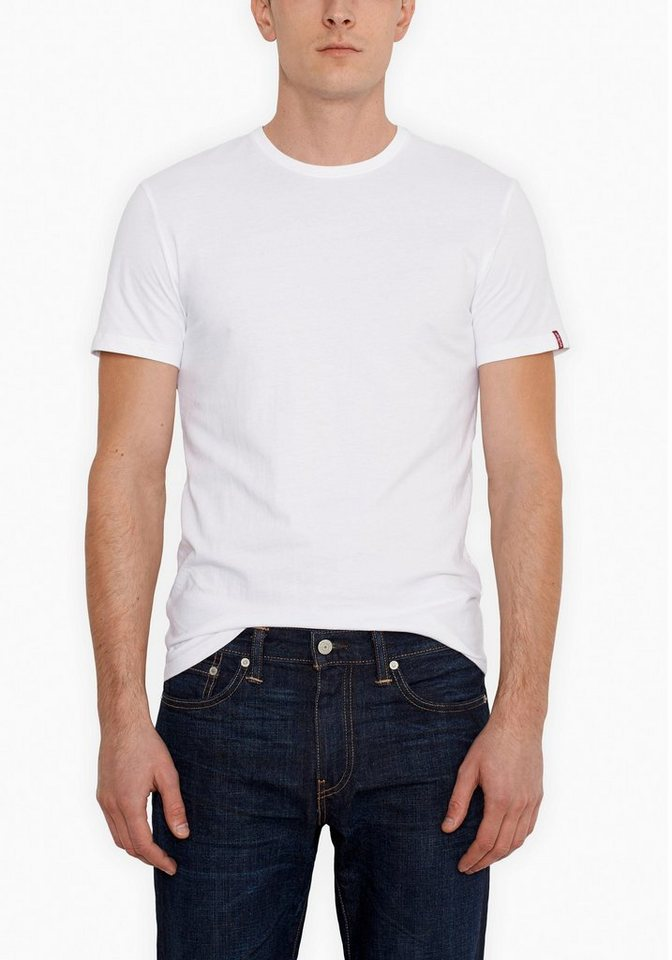 Levi's® T-Shirt (Packung, 2er-Pack) in weiß