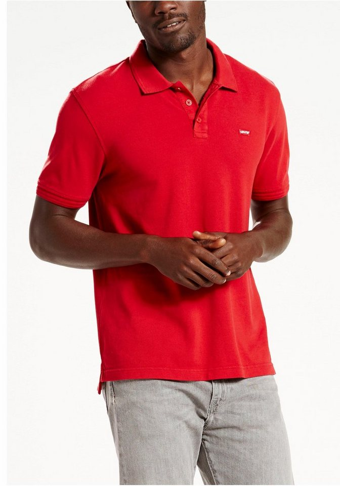 Levi's® Poloshirt in rot