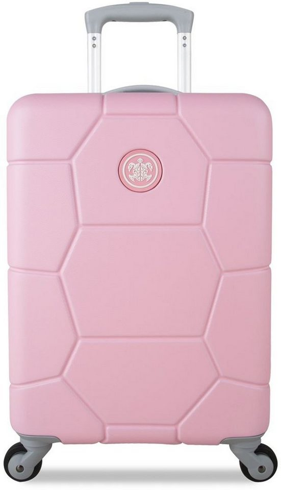 SUITSUIT® Hartschalentrolley mit 4 Rollen, »Caretta Pink Lady« in pink