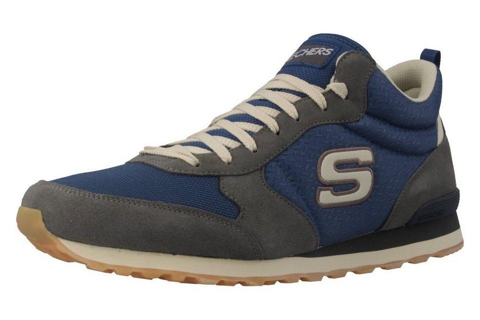 Skechers Sneaker in Grau/Blau