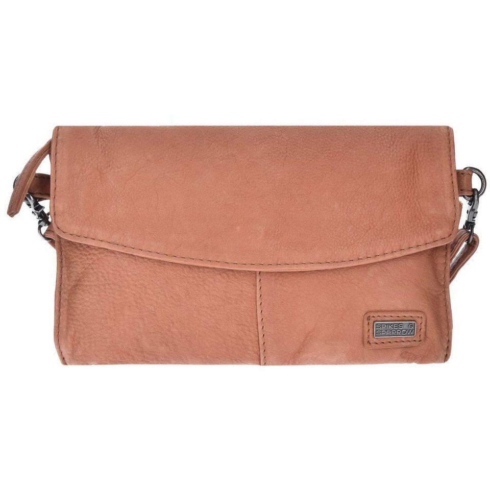 Spikes & Sparrow Idaho Clutch Tasche Leder 23 cm in tan
