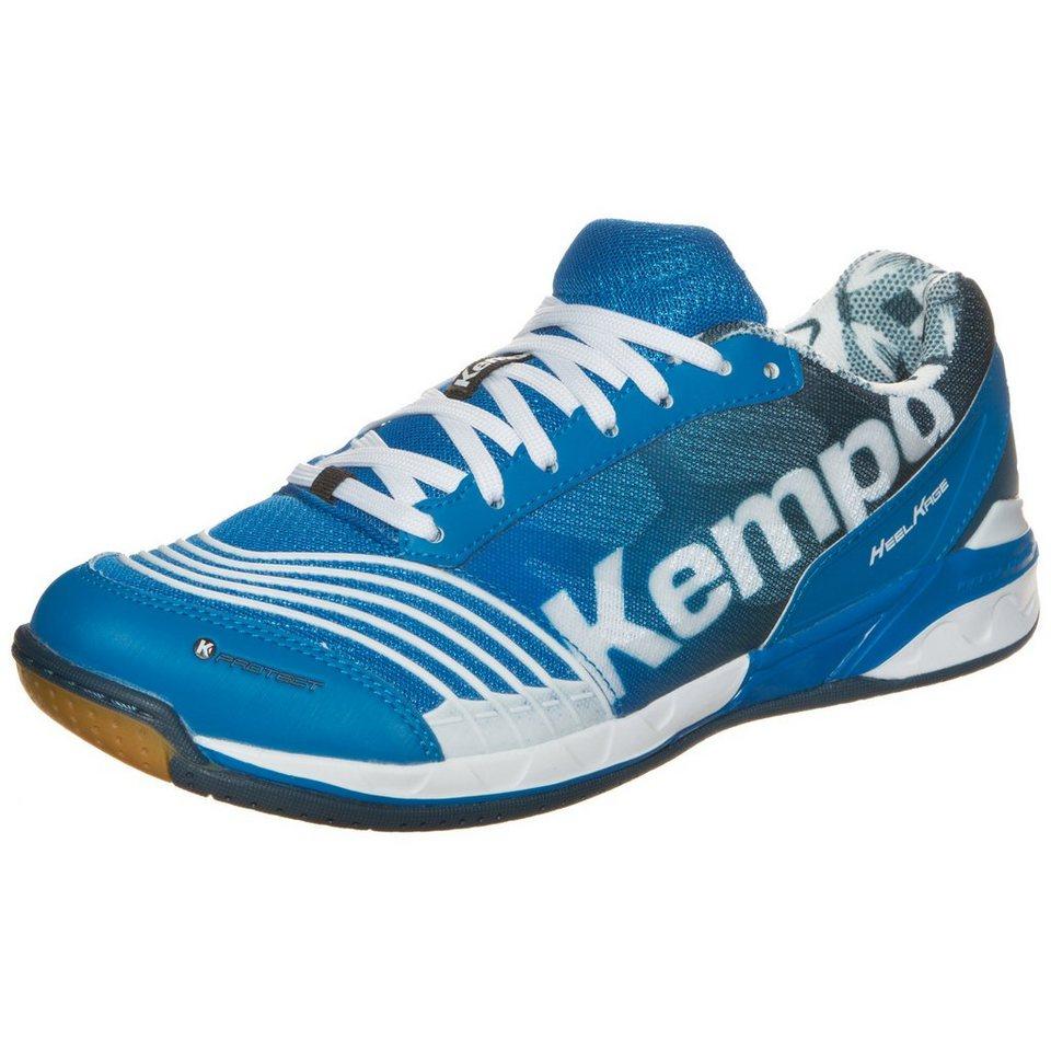 KEMPA Attack Two Handballschuh Herren in blau / petrol / weiß