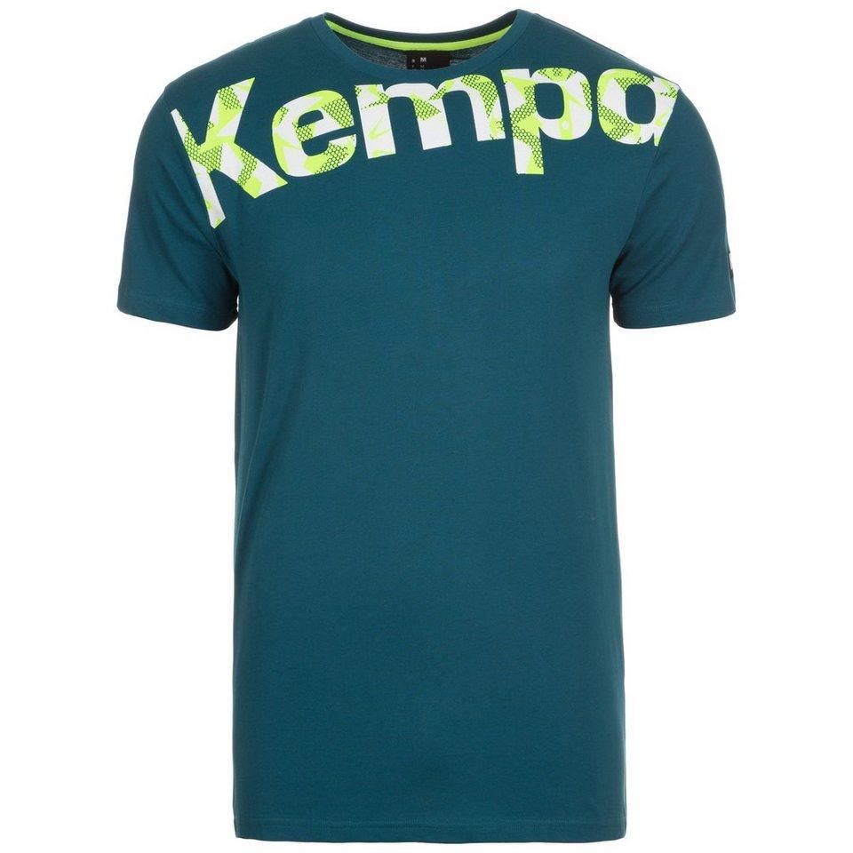 KEMPA Core Graphic T-Shirt Herren in petrol