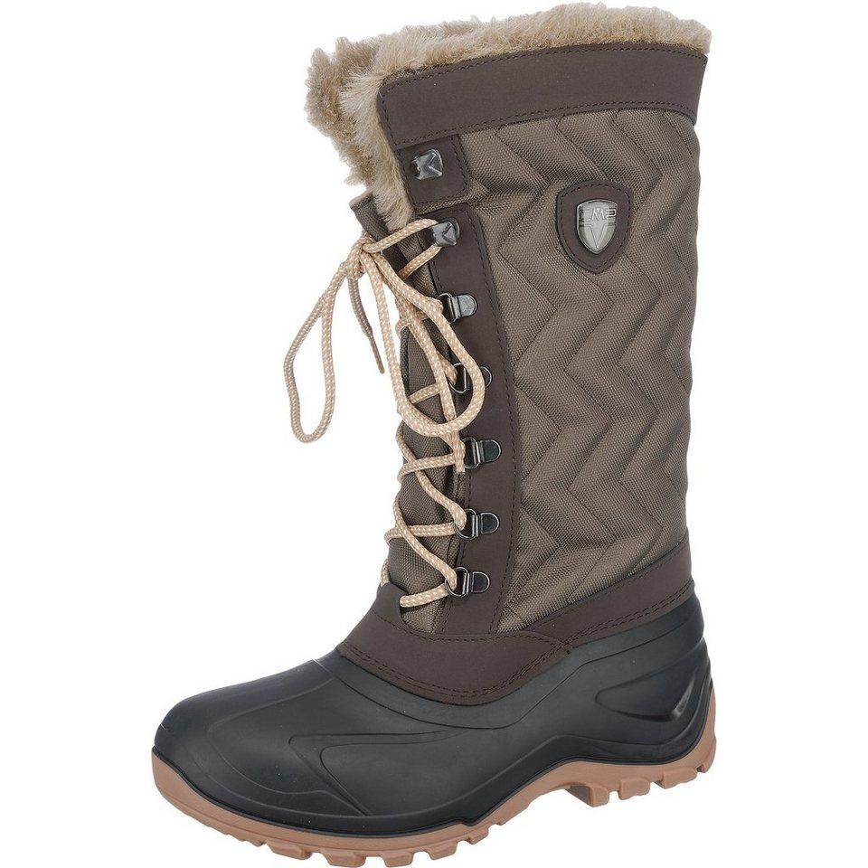 CMP Nietos Snow Stiefel in braun-kombi