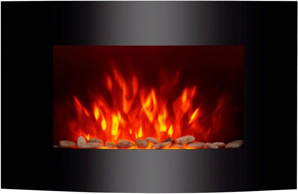 el fuego elektrisches kaminfeuer z rich schwarz mit fernbedienung und led beleuchtung online. Black Bedroom Furniture Sets. Home Design Ideas