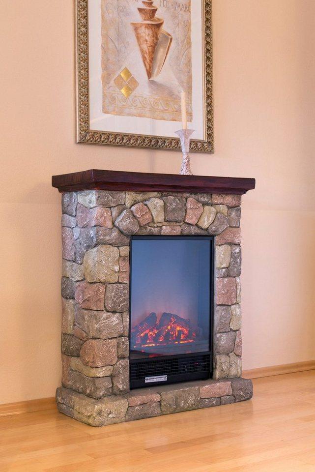 el fuego elektrisches kaminfeuer lugano grau mit. Black Bedroom Furniture Sets. Home Design Ideas