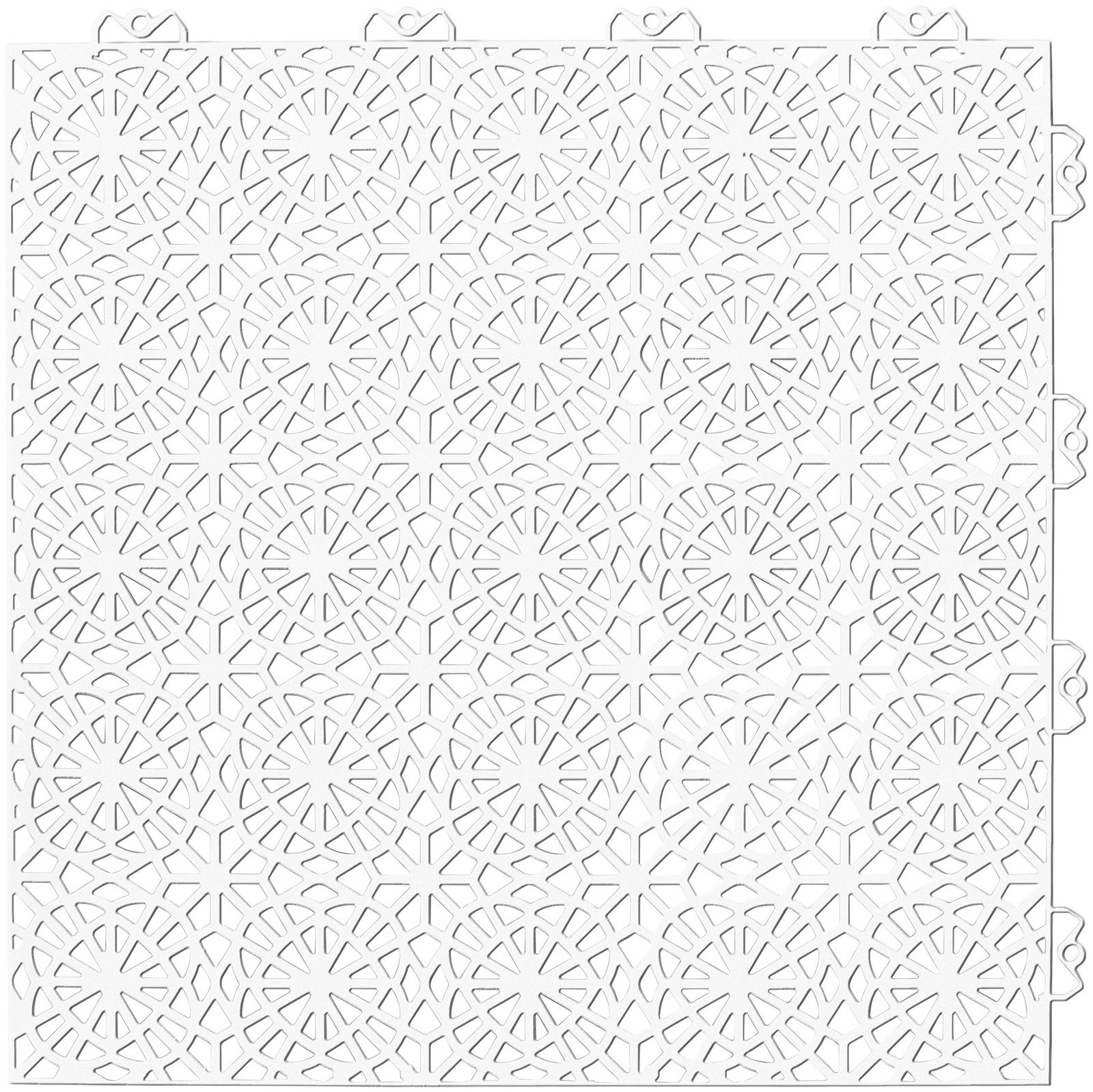 Set: Kunststofffliese »XL«, 14 Stk. für 2 m², weiß