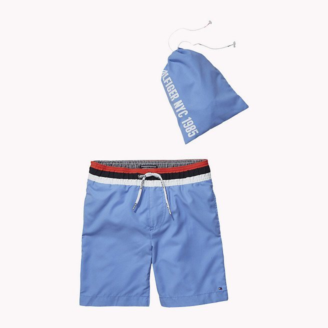 Tommy Hilfiger Swimwear »SOLID SWIMSHORT« in Blue Bonnet