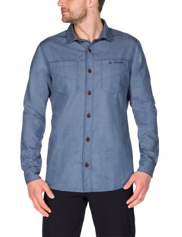 VAUDE Hemd »Belluno LS Shirt Men« in blau