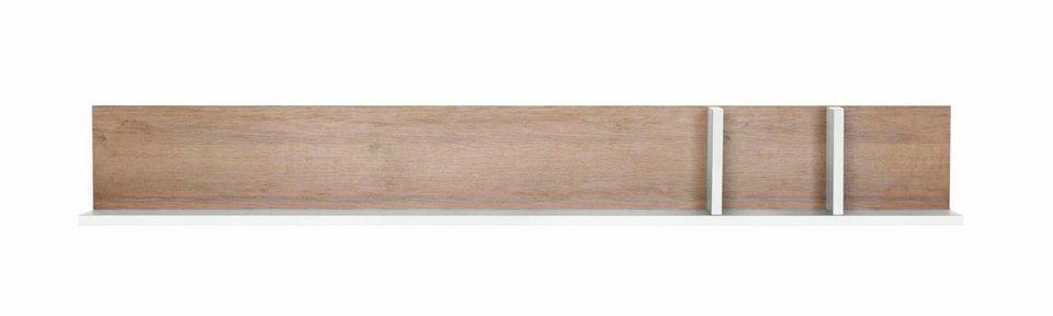 set one by Musterring Wandbord »miami« Typ 42, in Grau matt oder Weiß Hochglanz, Breite 180 cm in Weiß Hochglanz