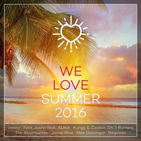 Audio CD »Various: We Love Summer 2016«