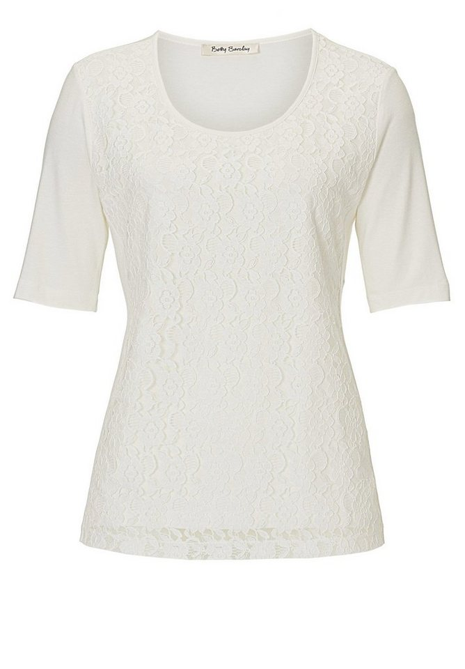 Betty Barclay Shirt in Rohweiß - Weiß
