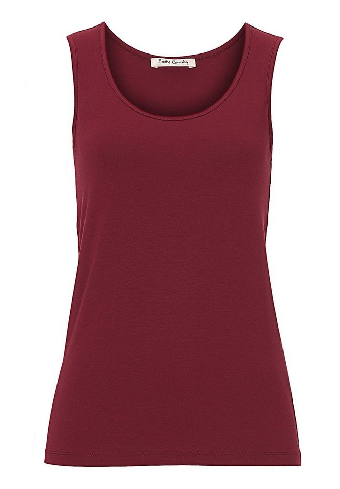 Betty Barclay Top in Deep Berry - Bunt