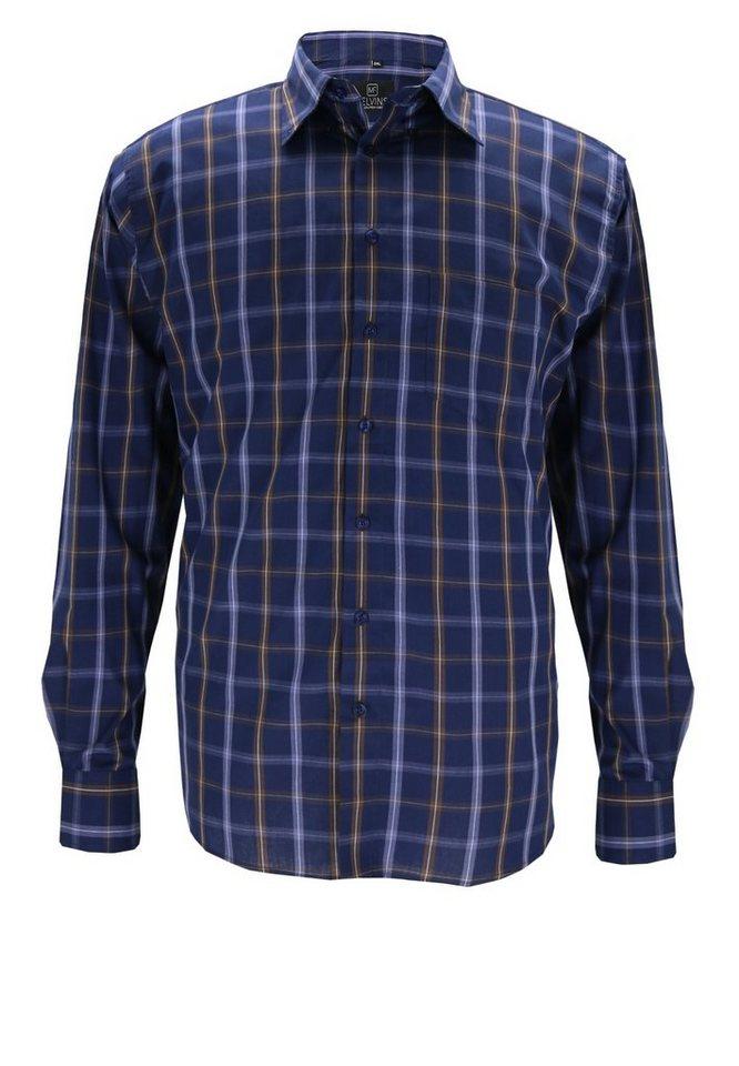 melvinsi fashion Oberhemd in Braun
