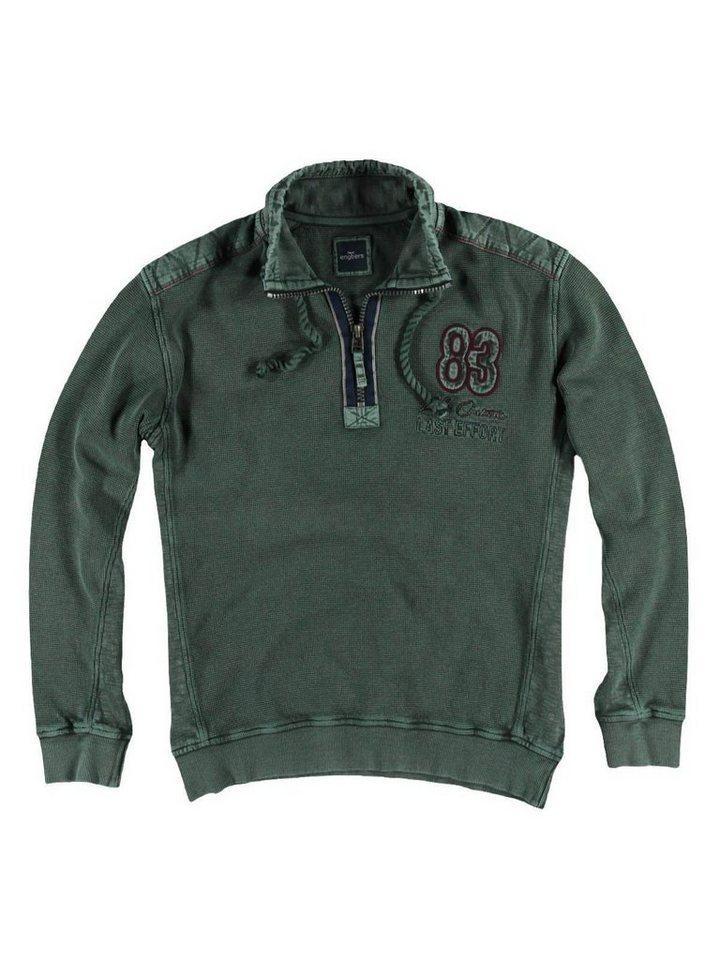 engbers Sweatshirt in Olivgrün