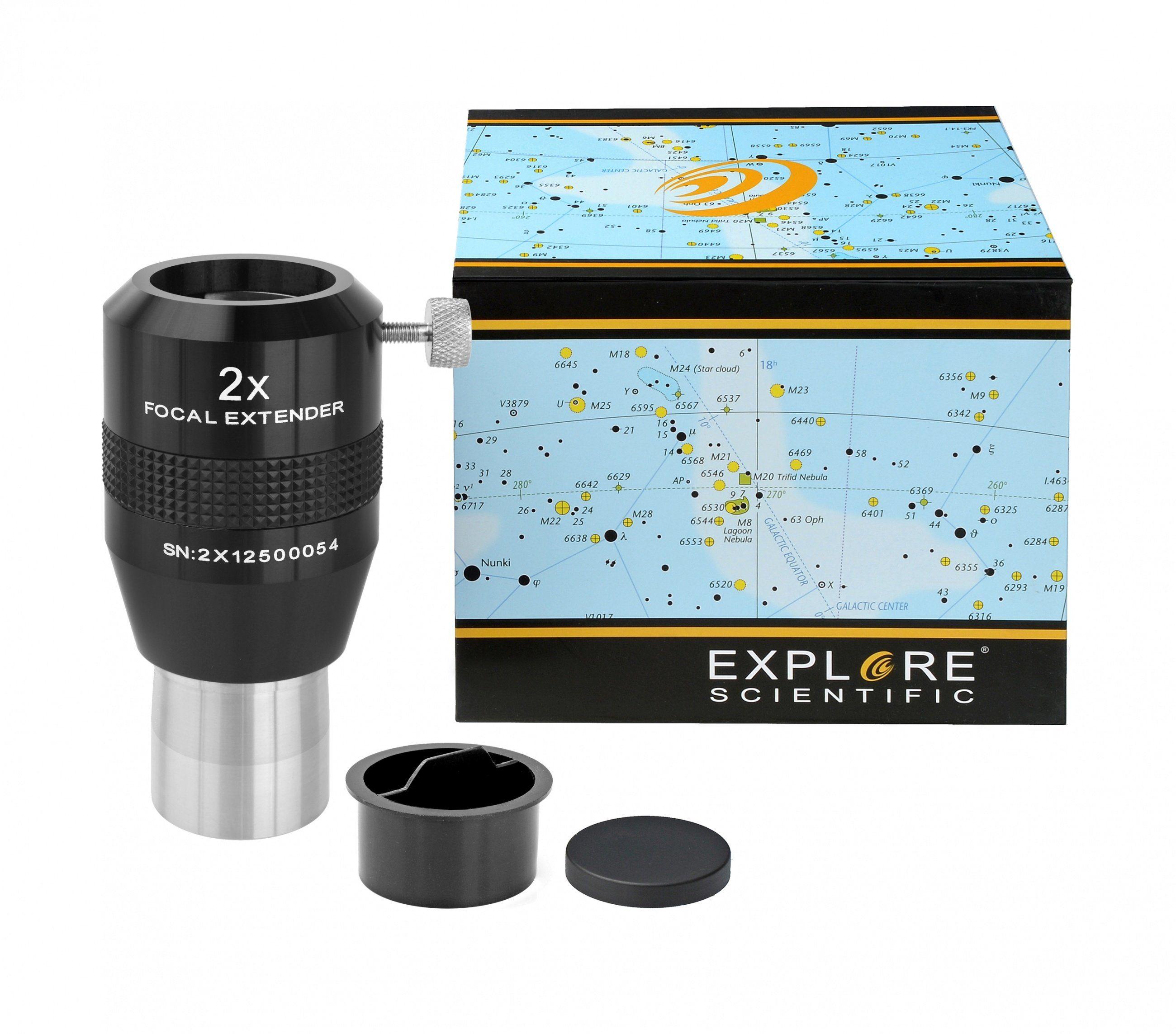 "BRESSER Teleskop »EXPLORE SCIENTIFIC Fokal Extender 2x 31.7mm/1.25""«"