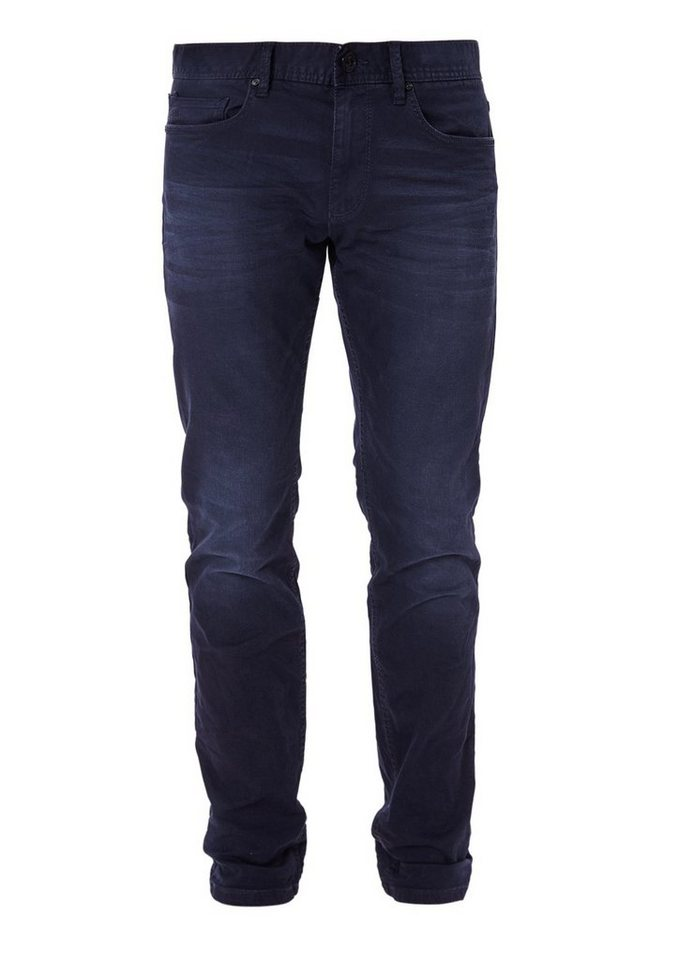 s.Oliver RED LABEL Tubx Straight: Dunkle Stretchdenim in blue denim stretch